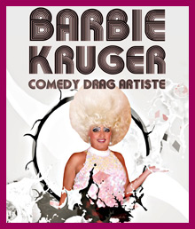 Barbie Kruger Drag Queen