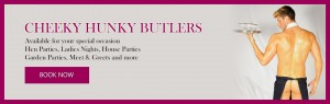 Cheeky Hunky Butlers - Cheeky Pinny