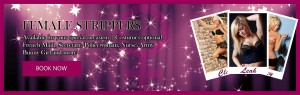 Female strippers banner