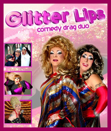 Glitter Lips Drag duo