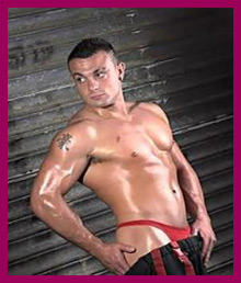 Warrior Male Stripper