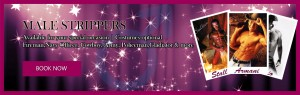 Male Strippers Banners