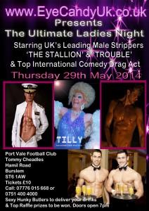 Ladies Night Drag Queen Strippers Stoke On Trent
