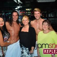 Male Strippers Trouble & Stallion Perform in Stoke-on-Trent Reflex Nightclub